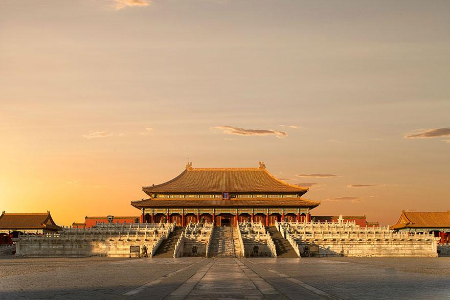 A Tiltott Város, a hagyományos kínai palotaépítészet remekműve