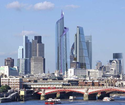 Ismerje Meg London Felhőkarcol 243 It Ek 214 Zben Londonban