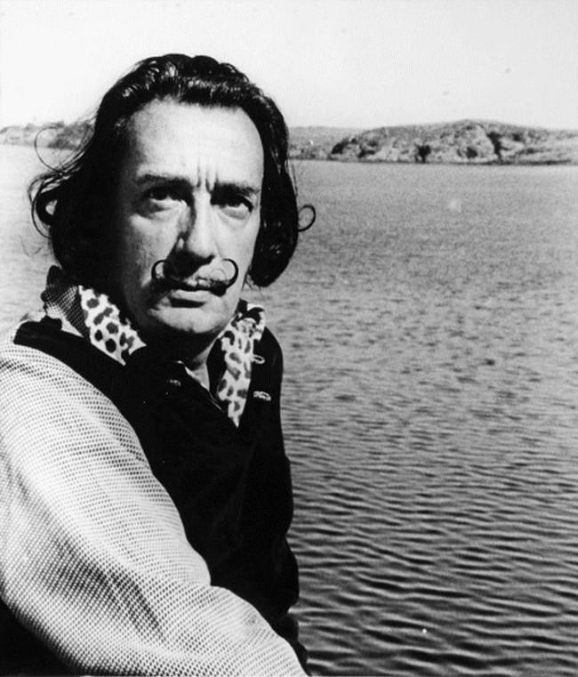 Salvador Dali, 1957 (Bill Brandt)