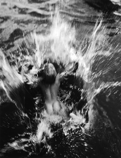 Dana Miller a tóban, Umpawag (Edward Steichen)