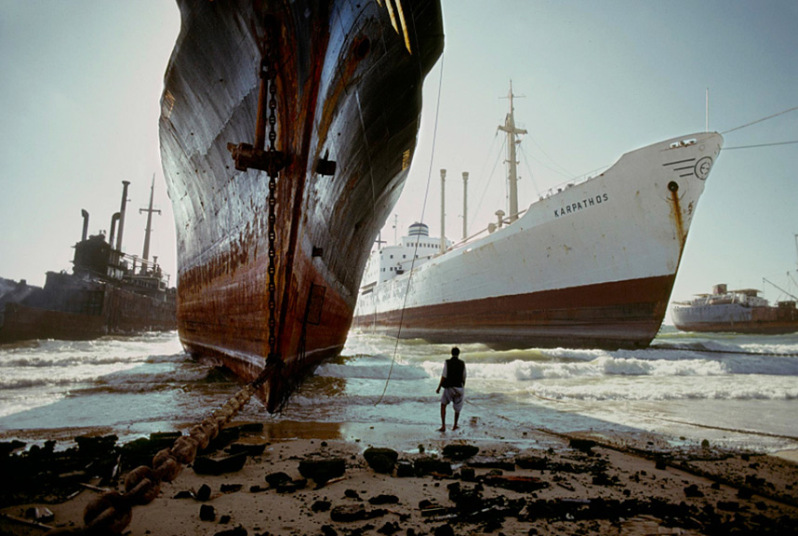 Hajók, Karachi, 1985 (Steve McCurry)