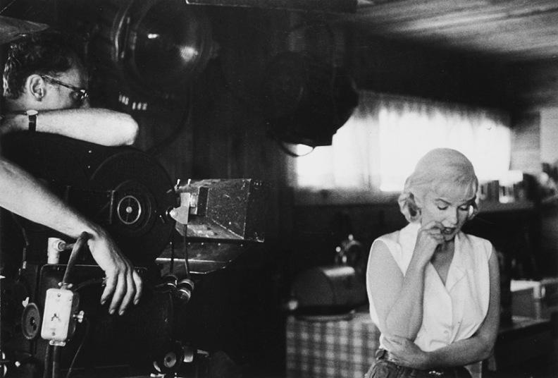 cím_Bruce Davidson, Marilyn Monroe operatőrrel a The Misfits forgatásán, 1960.jpg