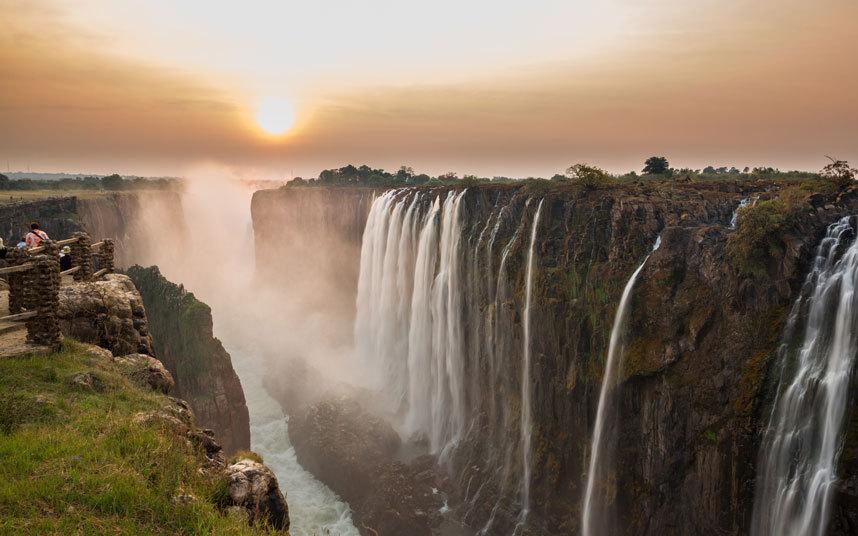 Victoria, Zimbabwe és Zambia
