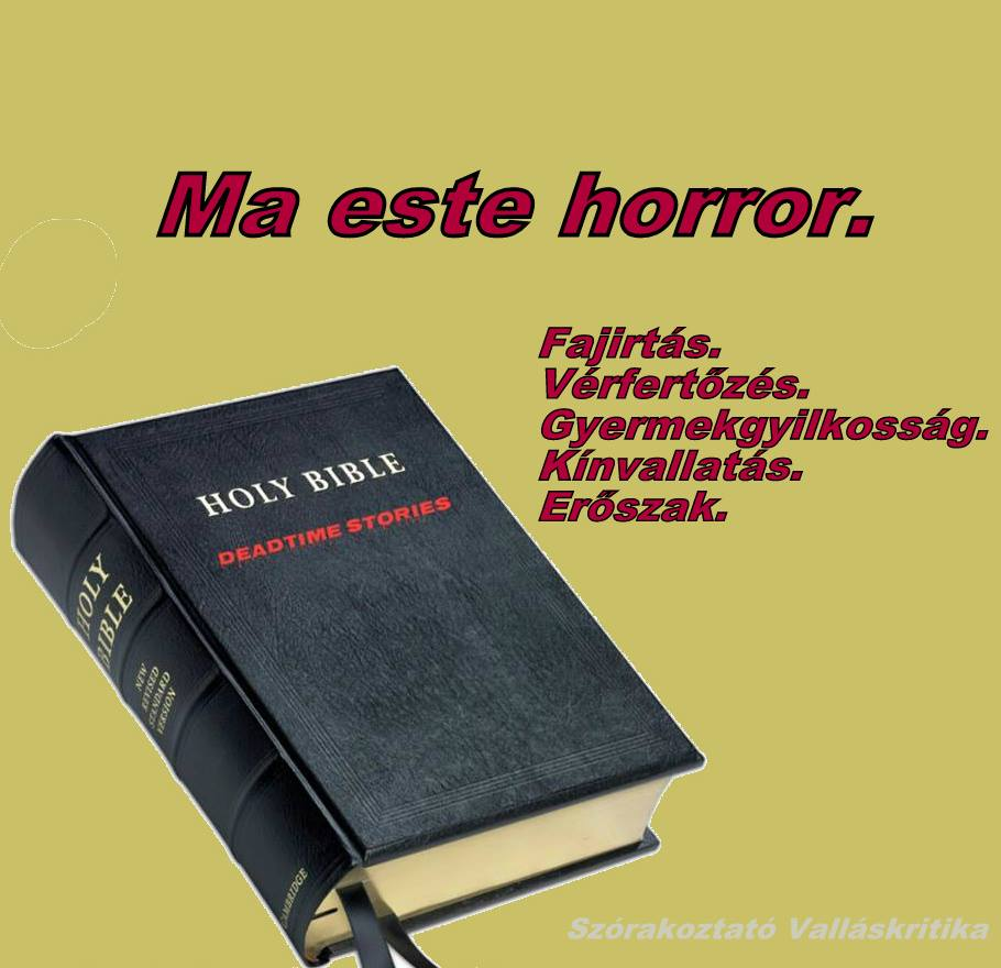 Bibliai horror