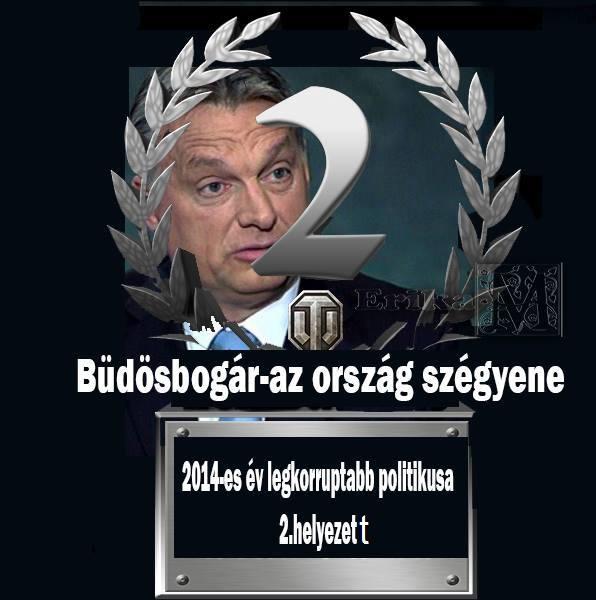 Orbán ezüstérmes korrupcióban