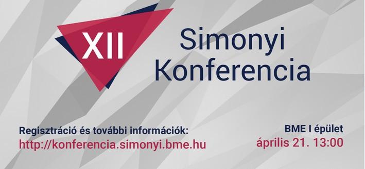 XII. Simonyi Konferencia