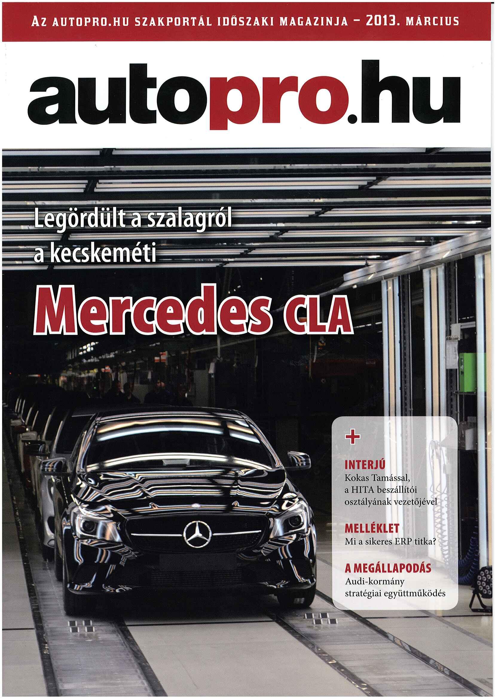 ERP melléklet az Autopro magazinban