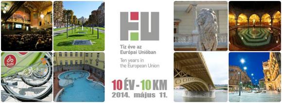 10 év - 10 km    2014. május 11, Budapest