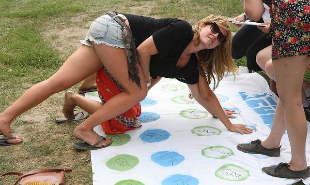EU-Twister a European Meeting Pointban, 2013 (fotó: Európai Bizottság / Dudás Szabolcs) <br />További képek a tavalyi fesztiválról itt: https://www.flickr.com/photos/europapont/sets/72157630972930098/