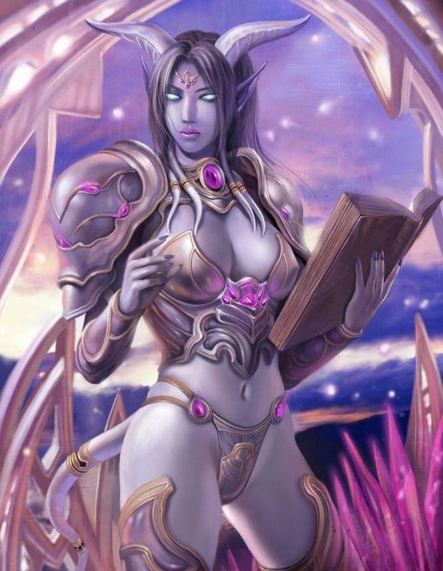 World of warcraft draenei female