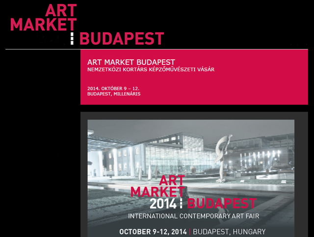 Jön: Art Market Budapest 2014