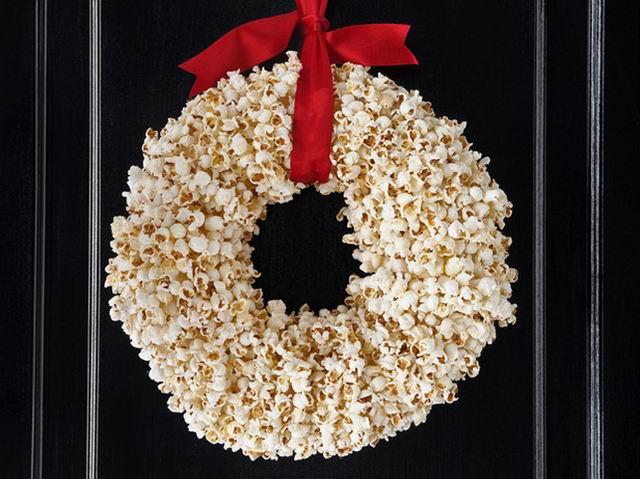 Popcorn koszorú