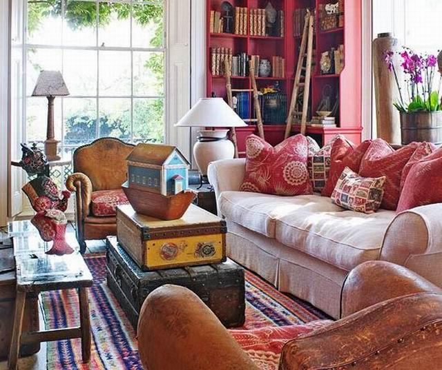 Színek és stílusok a nappaliban