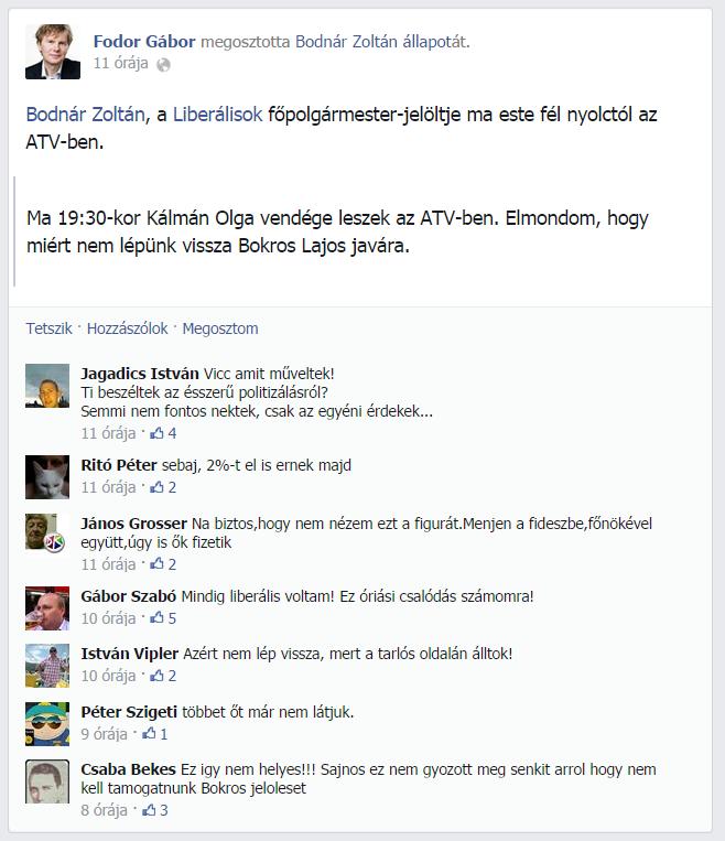 Bodnar_Zoltan_szereples_MLP_Magyar_Liberalis_Part_Liberalisok_Fodor_Gabor_facebook_oldal_nulla_tetszik_lik_lajk_tarsadalmi_tamogatottsag_kritikus_kommentek.png