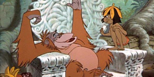 """Képtalálat a következőre: """"dzsungel könyve rajzfilm majomkirály"""""""