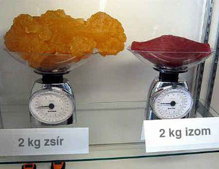 éget az utolsó néhány kiló zsír