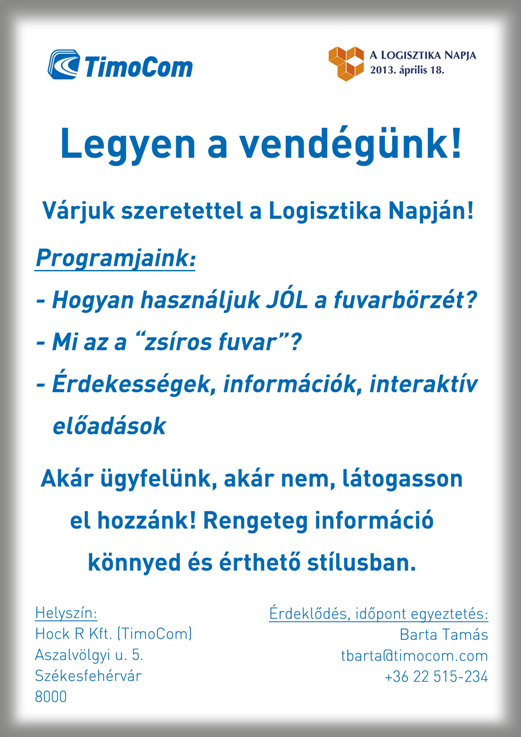 Logisztika Napja TimoCom program.png