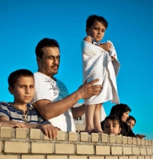 Menekülttábori élmények