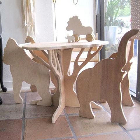 Детский столик из фанеры своими руками
