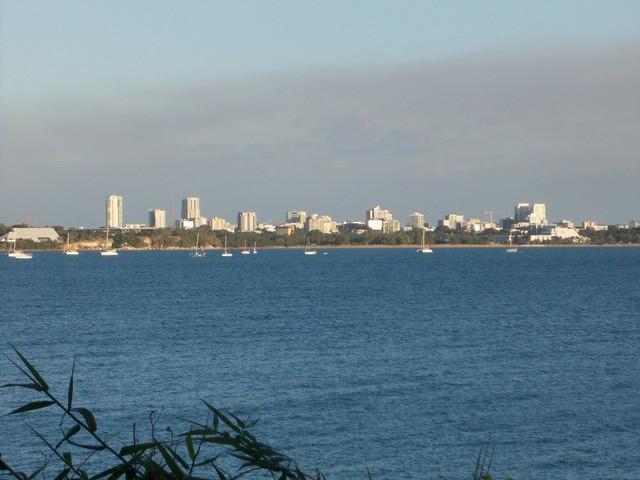 A város az East Point félszigetről.JPG