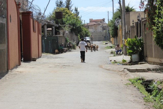 Addisz Ababa egy szomáliai negyede. Barátságos környék.jpg
