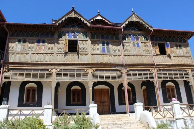 Ebben a házban élt Arthur Rimbaud az 1880as évek elején. Gondar, Kelet-Etiópia..jpg