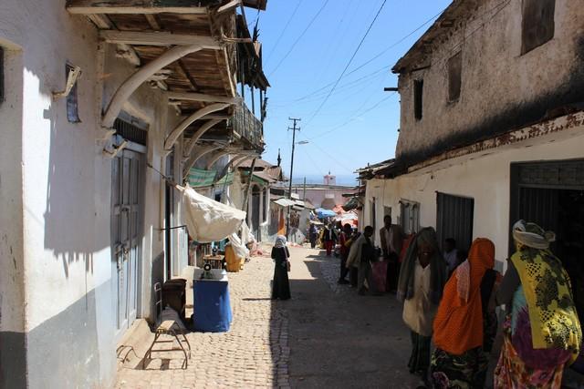 Harar óvárosa a Dzsugál, egy négyzetkilóméternyi labirintus.jpg