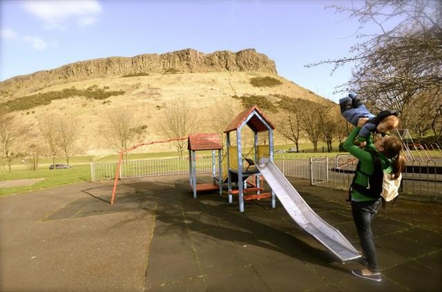 Skócia, Edinburgh, gyerek.jpg