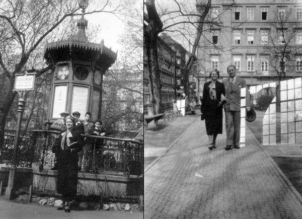 1932 Időjelző házikó és 1935 fortepan.jpg