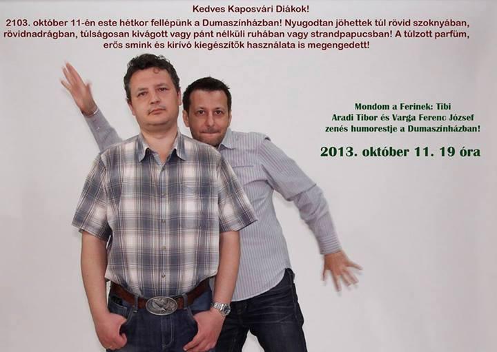 Programajánló: Maksa és Aradi-Varga