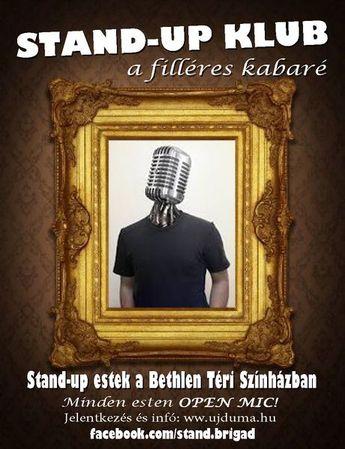 Stand Up Comedy tehetségkutató rendezvények 2015-ben is