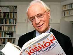 Ma lenne 90 éves Ephraim Kishon író-humorista