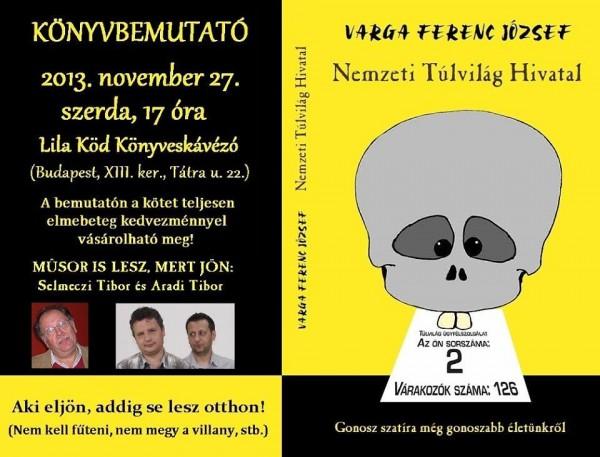 Varga Ferenc József: Nemzeti Túlvilág Hivatal