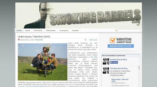 Bemutatkoznak a PS blogok: Smoking Barrels