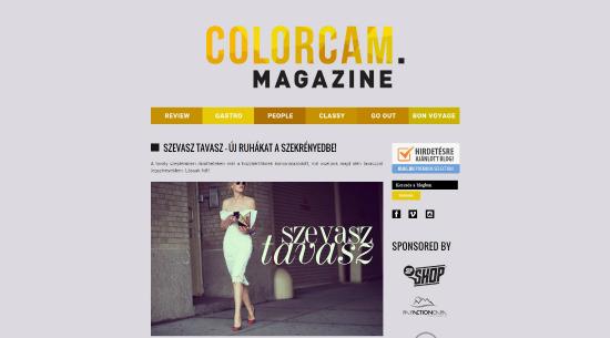 Bemutatkoznak a PS blogok: Colorcam