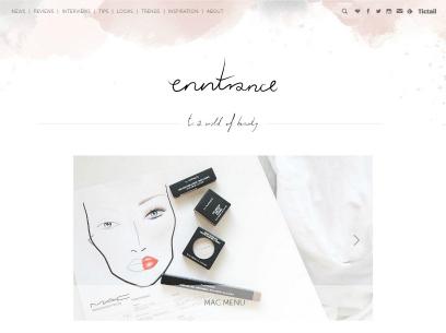 Bemutatkoznak a PS blogok: Enntrance