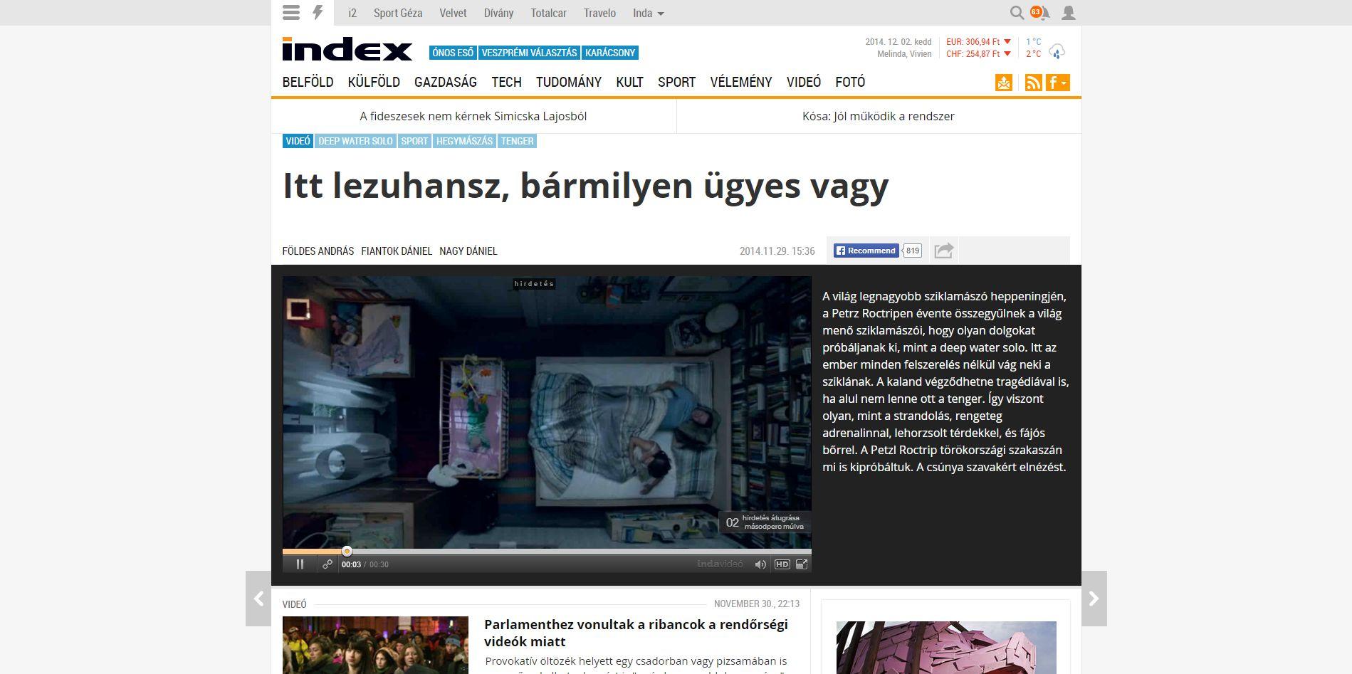 Index Videó