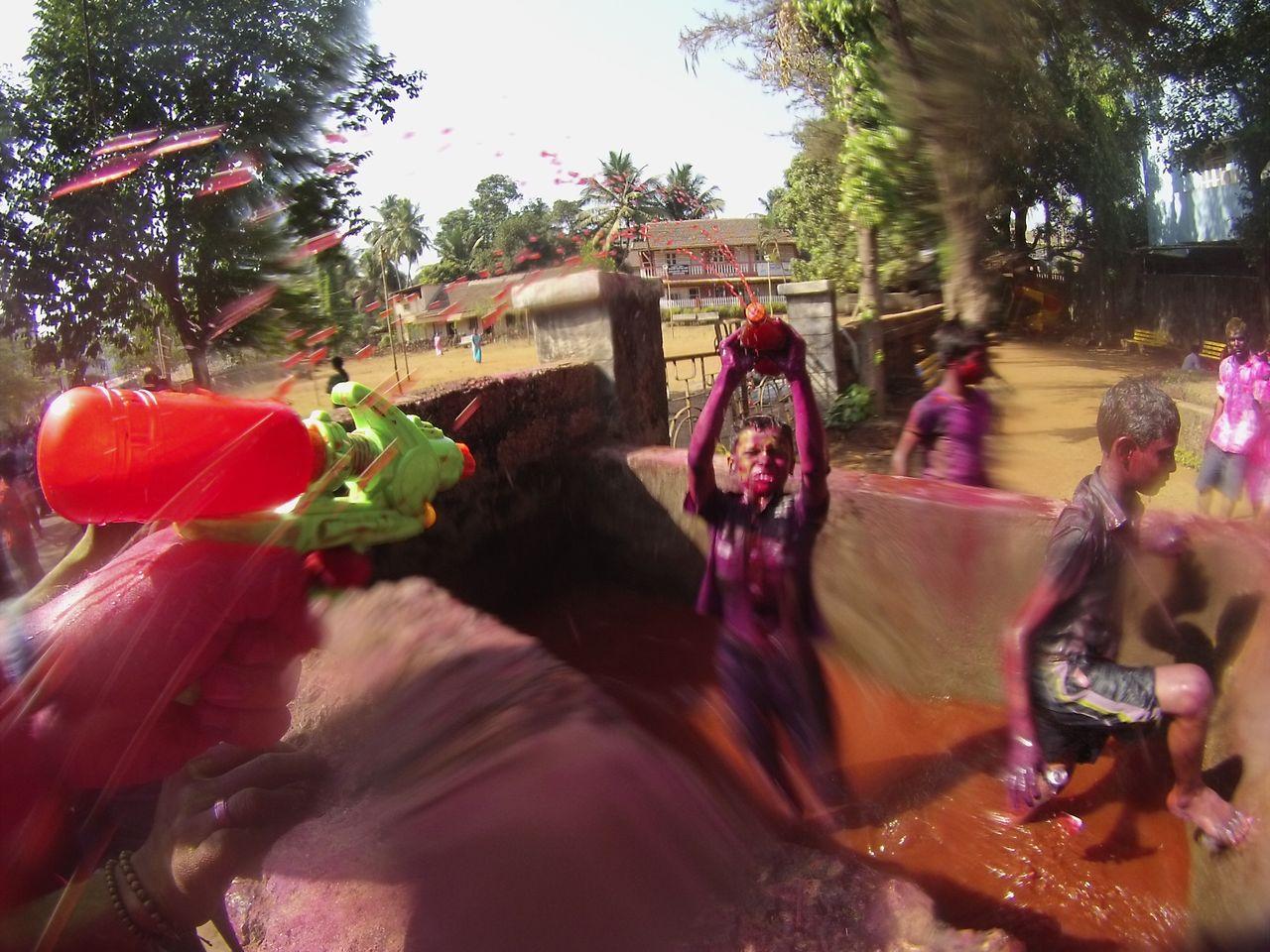 IndiaPass:  Holi fesztivál