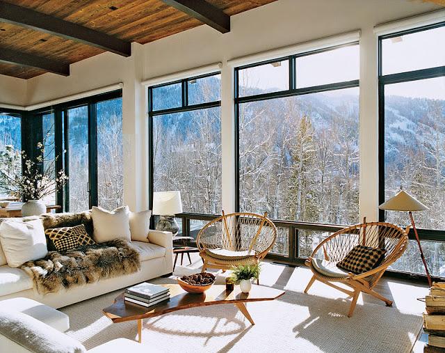 Szerény aspeni bungalló