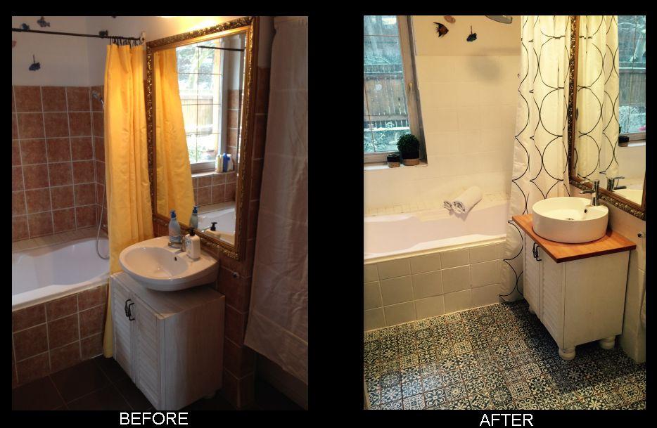 DIY fürdőszoba felújítás