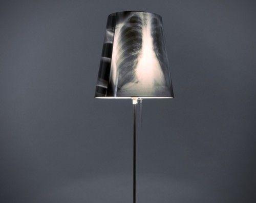 Mellkas röntgen + lomtalanítás = állólámpa