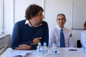 Lloyd Evans és Masoud Banisadar.jpg