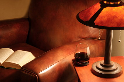 armchair with book and wine.jpg