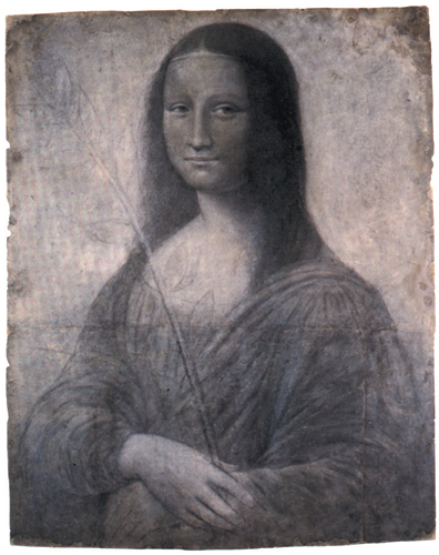 Design for the Mona Lisa made about 1499 and attributed to Leonardo da Vinci.jpg