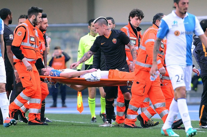 Horrorisztikus lábtörést szenvedett a Juve tulajdonában lévő játékos