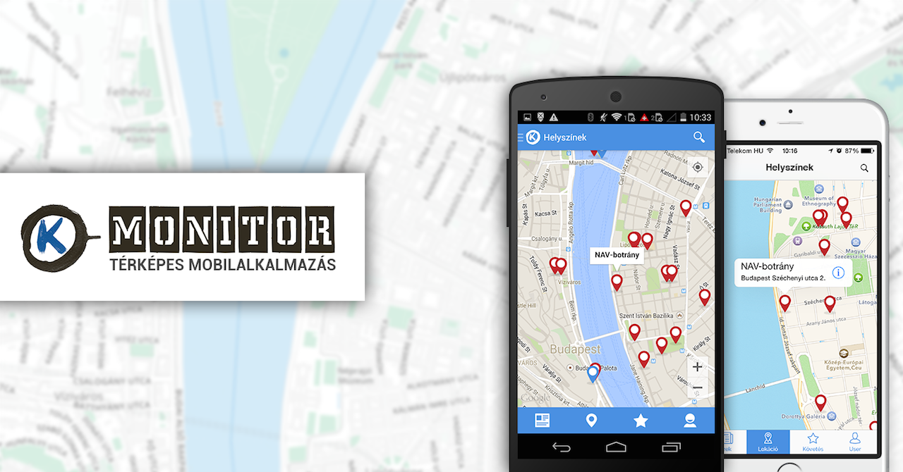 k-monitor mobil app