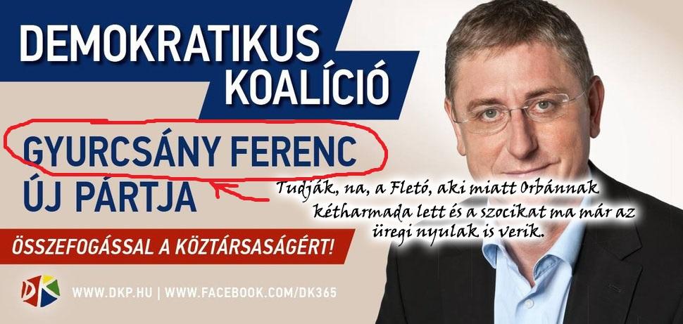 """""""Utcára magyar!"""" Gyurcsány Ferkó szerint!"""