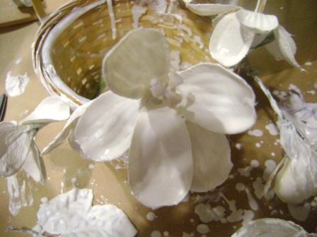 Szintén selyemvirág, bár a fotó szebb, mint maga a produktum