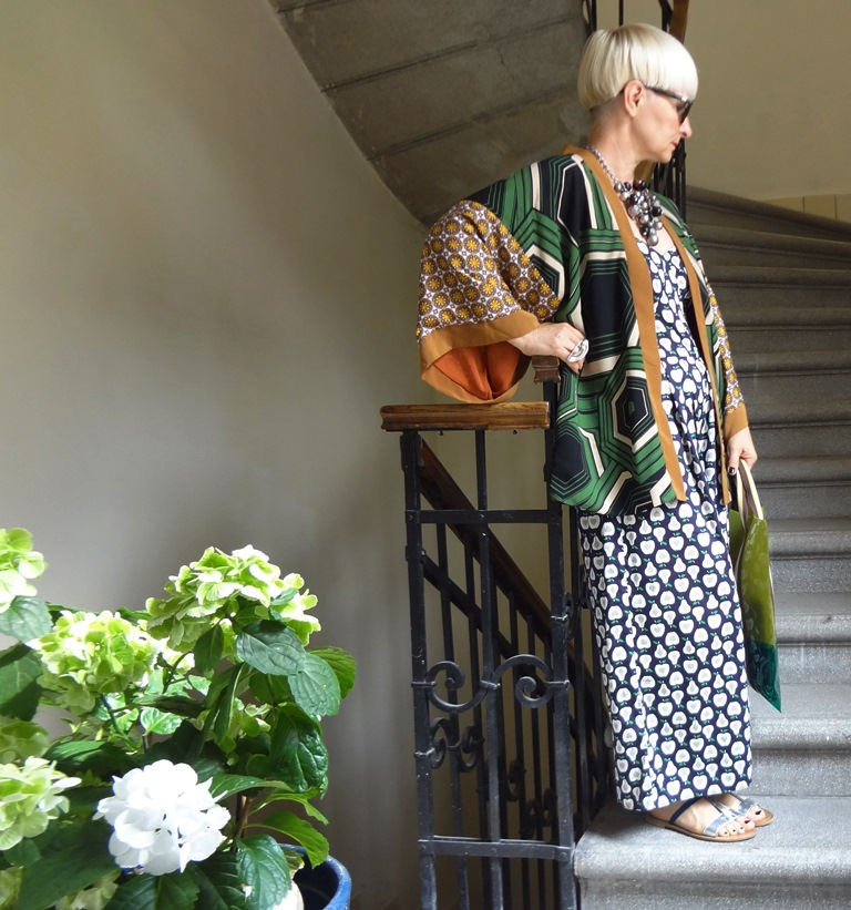 Egy kimono több variációban