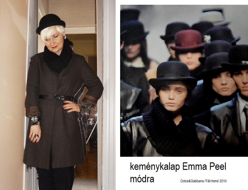 Kemény kalap trendi változata